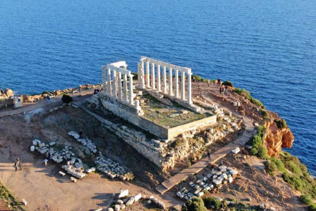 sounio-plan-a-honeymoon-trip-to-Greece