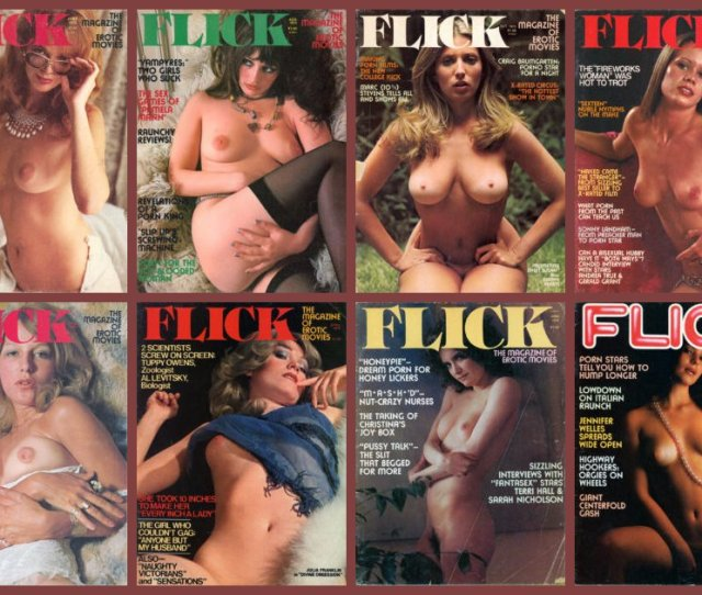 Flick Erotic Movie Magazines