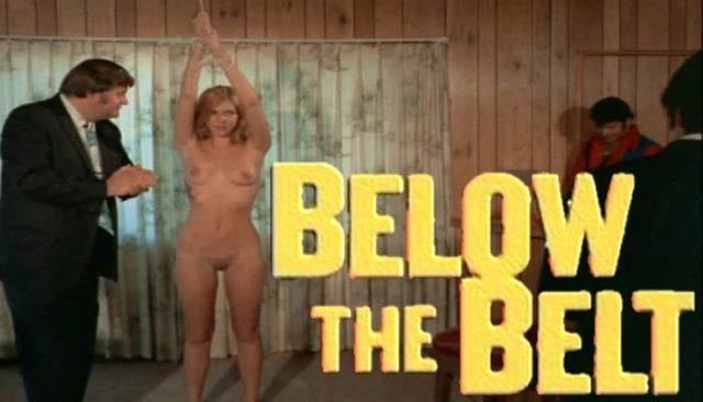 Below The Belt (1971) watch online