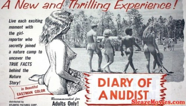 Diary of a Nudist (1961) watch online