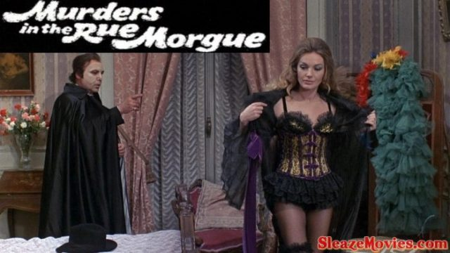 Murders In The Rue Morgue (1971) watch online