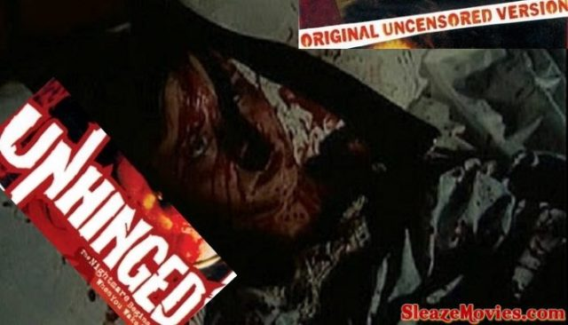 Unhinged (1982) watch uncut