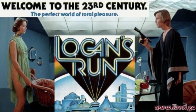 Logan's Run (1976) watch cult sci-fi