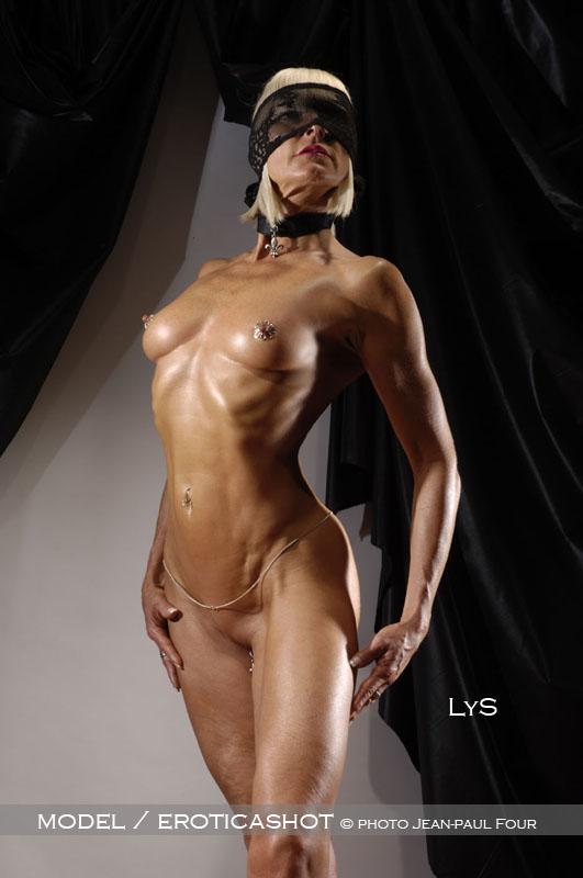 Lys  models of eroticashot blonde glamour model