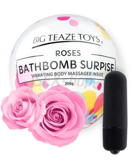 Eroticmania Big Teaze Toys - Bath Bomb Surprise bomba do kúpeľa Ruža