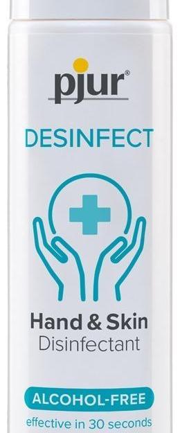 Pjur Desinfect dezinfekcia na ruky a telo bez alkoholu 100 ml