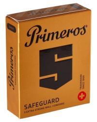 Primeros Safeguard kondómy 3 ks