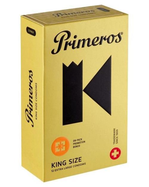 Primeros King Size kondómy 12 ks