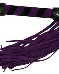 Bad Kitty bičík 38 cm - fialový