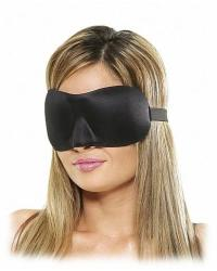 Fetish Fantasy Deluxe Maska na oči - čierna