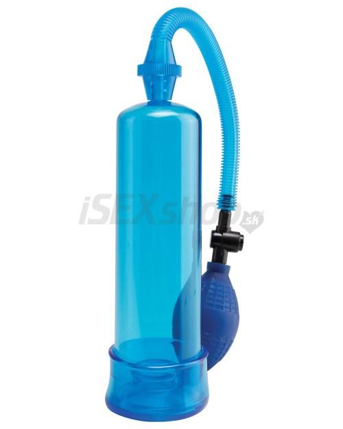 Eroticmania Pipedream Pump Worx Beginners modrá pumpa