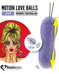 FeelzToys Motion Love Balls Jivy - vibračné vajíčko