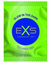 EXS kondomy Glow - svítící ve tmě 1 ks