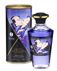 Shunga Hrejivý masážny olej s afrodiziakmi - exotické ovocie 100 ml