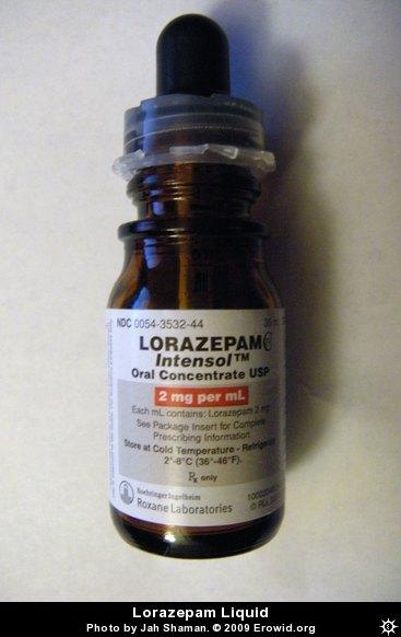 Erowid Pharms Vaults  Images  lorazepam liquid