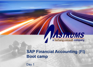 Asset Accounting in SAP: Training Presentation