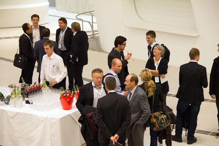 ERP Summit 2013 Wien Foyer
