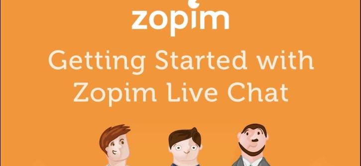 Instalando Zopim Chat