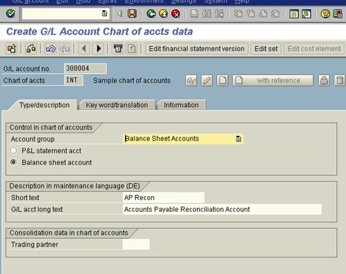 Chart Of Accounts Vs General Ledger