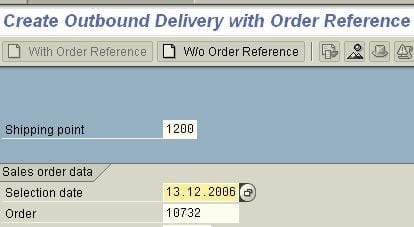 Determine Routes in Sales Order