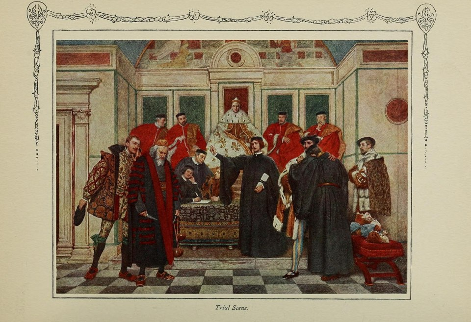 Merchant of Venice - Trial Scene