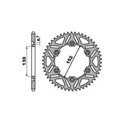 Corona in Ergal Aprilia MXV 450, SXV 450 / 550, RXV 450