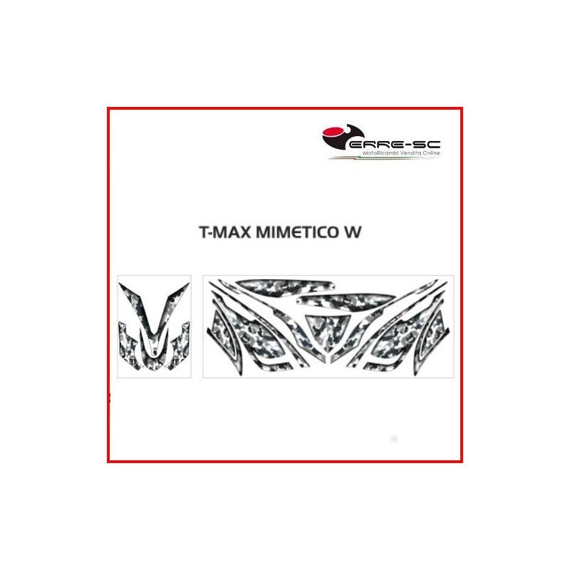 Kit Adesivi Print Decorazione Mimetica Yamaha T-Max 530