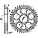 Hard Ergal Rear Sprocket size 520 Ducati 748, 848, 916