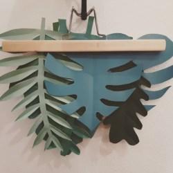 foglie di carta - DIY styling book - R nel bosco