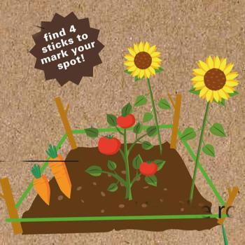 attrezzi da giardiniere - huckleberry make your garden - R nel bosco