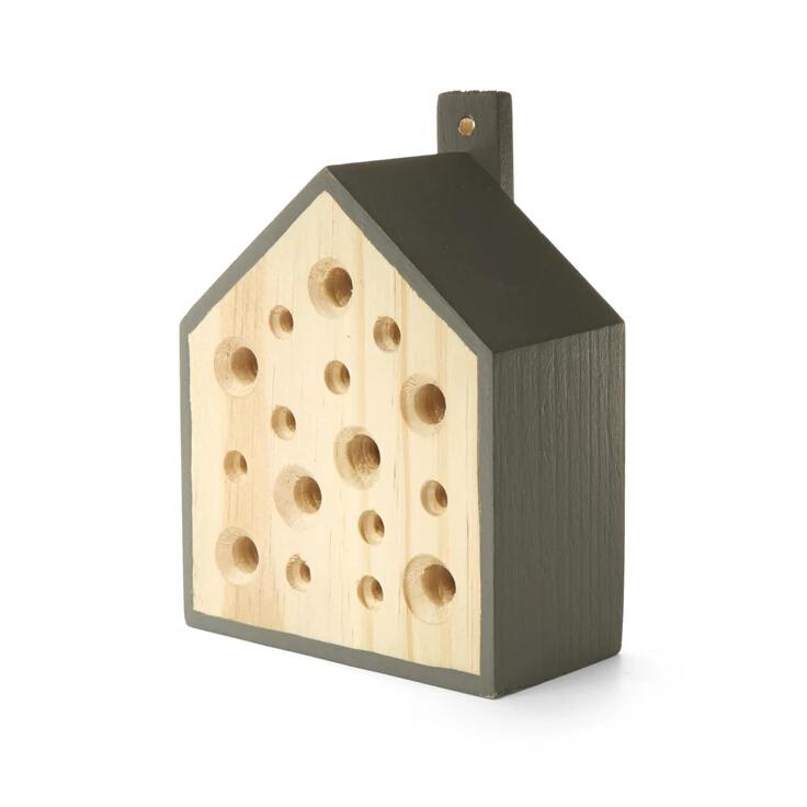 litte bee home - casa in legno per api solitarie - R nel bosco