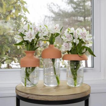 terracotta collars - per i vostri bouquet - R nel bosco