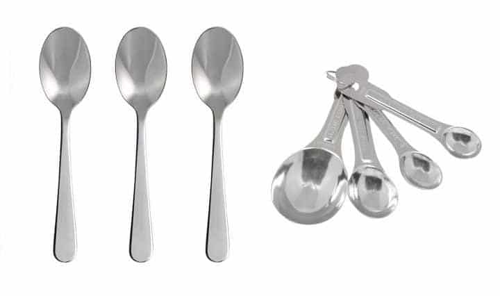 kitchen spoon backyard teaspoons tablespoons dessertspoons erren s dessert spoons side by