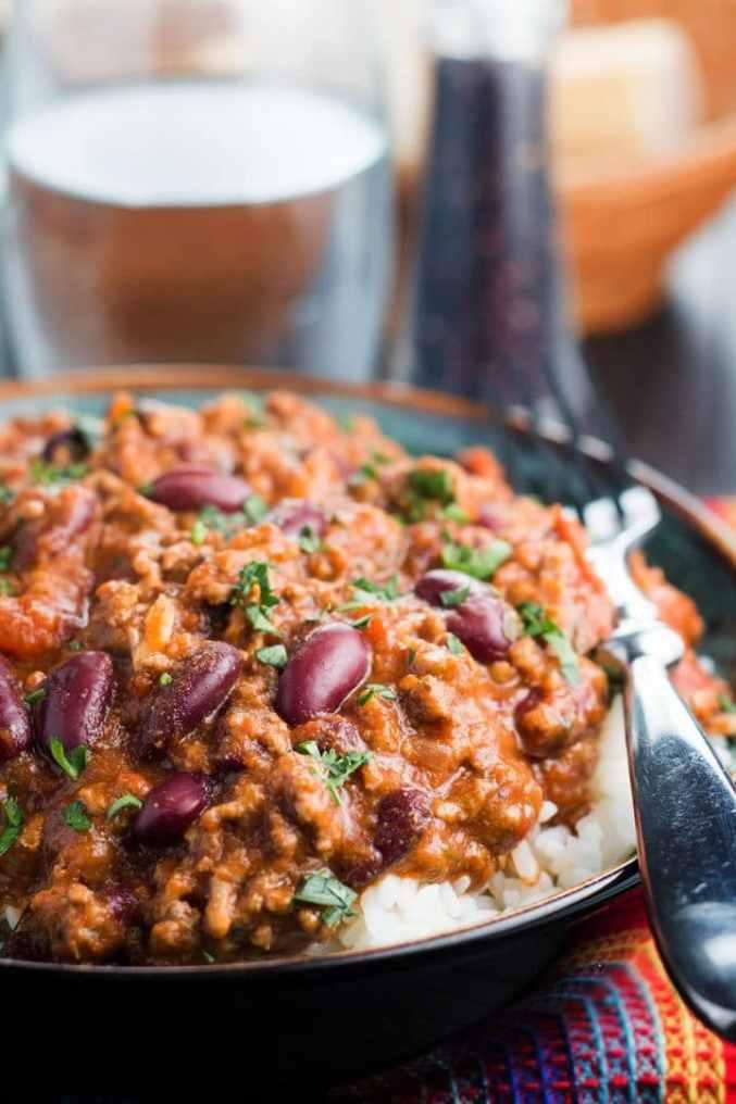 Classic Chili Con Carne - Erren's Kitchen