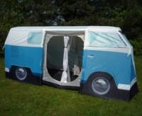 VW Bus Zelt T1 - blau, Volkswagen Bulli Camper tent, van