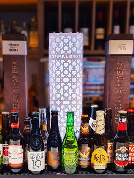 Variedad de cervezas Errondaberri