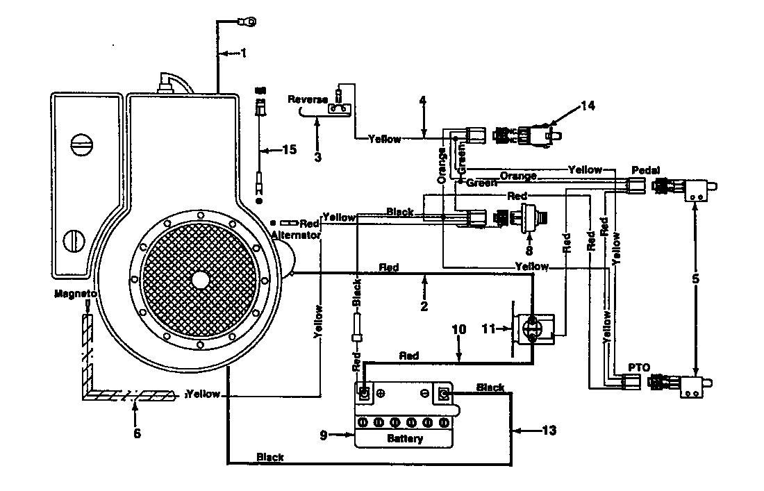 MTD 10/76 HN Schaltplan 131-520C (1991)