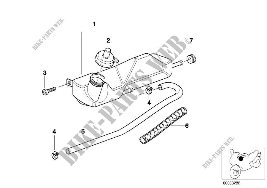 Kühlerschläuche/Temperatursensor für BMW F 650 CS Scarver