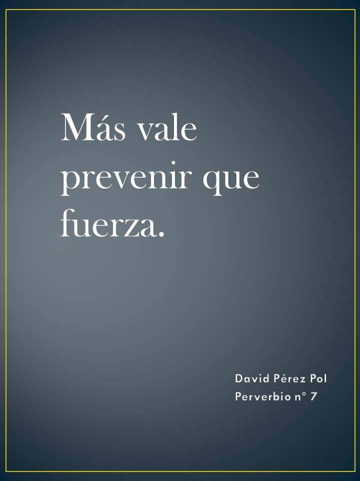 Preverbio nº 7