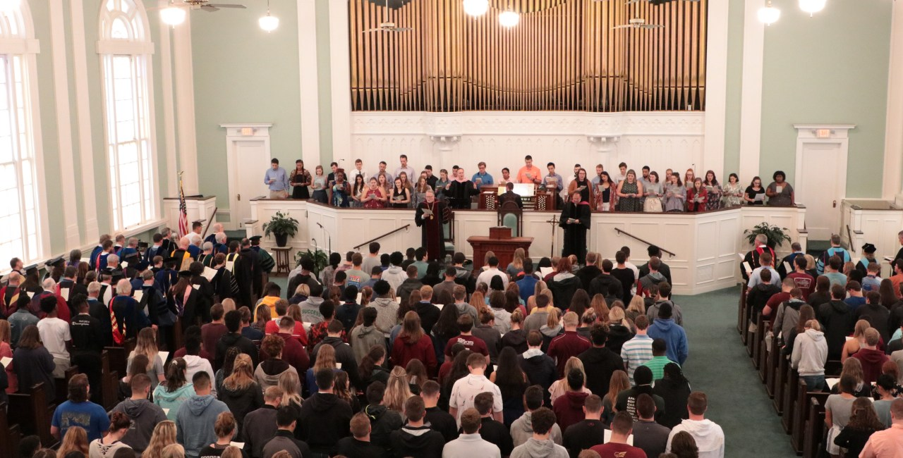 Erskine's Largest Entering Class Ever Swells Crowd At Formal Opening