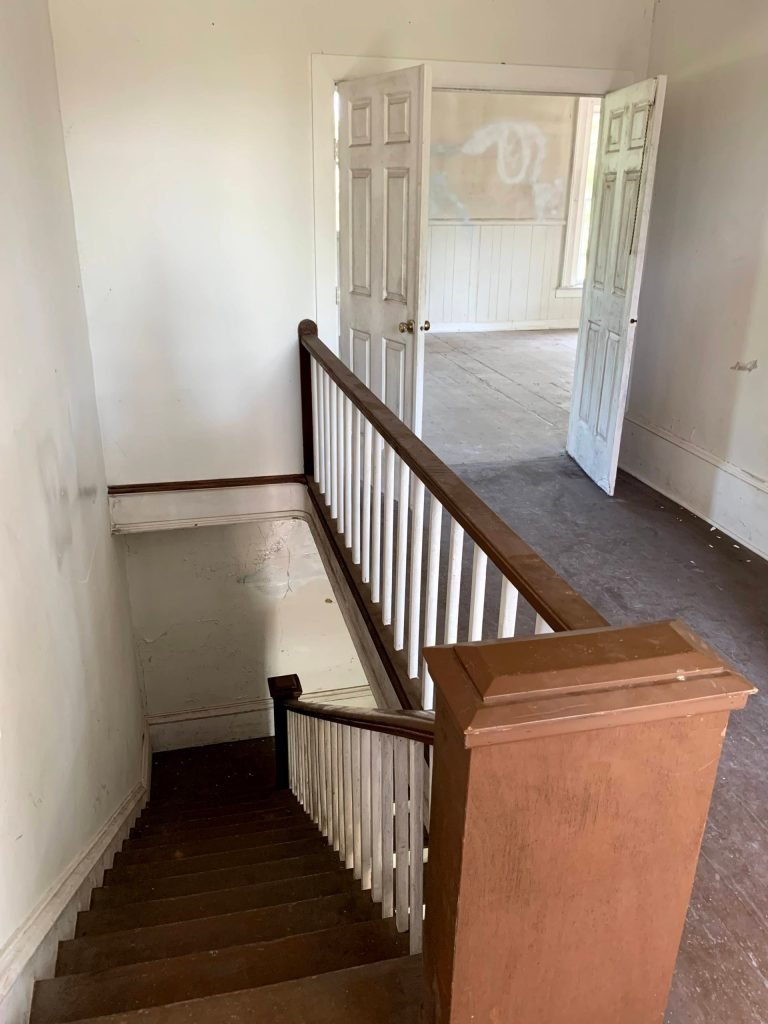 Alumni House Upstairs Hallway copy