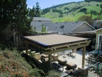 Retractable Pergola Covers | ERS Shading | San Jose, CA