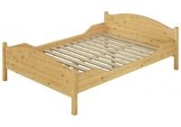 Doppelbett berlnge 140x220 Massivholz-Bett Kiefer natur ...