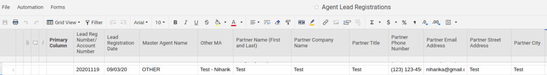 Receiving data into Smart Sheet