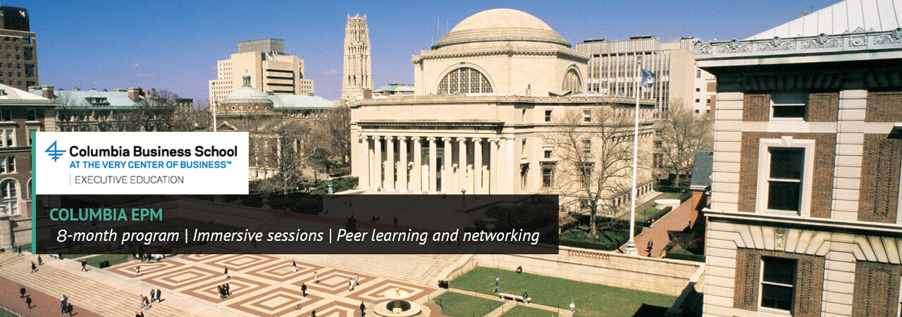 Columbia Business School: Executive Program in Management