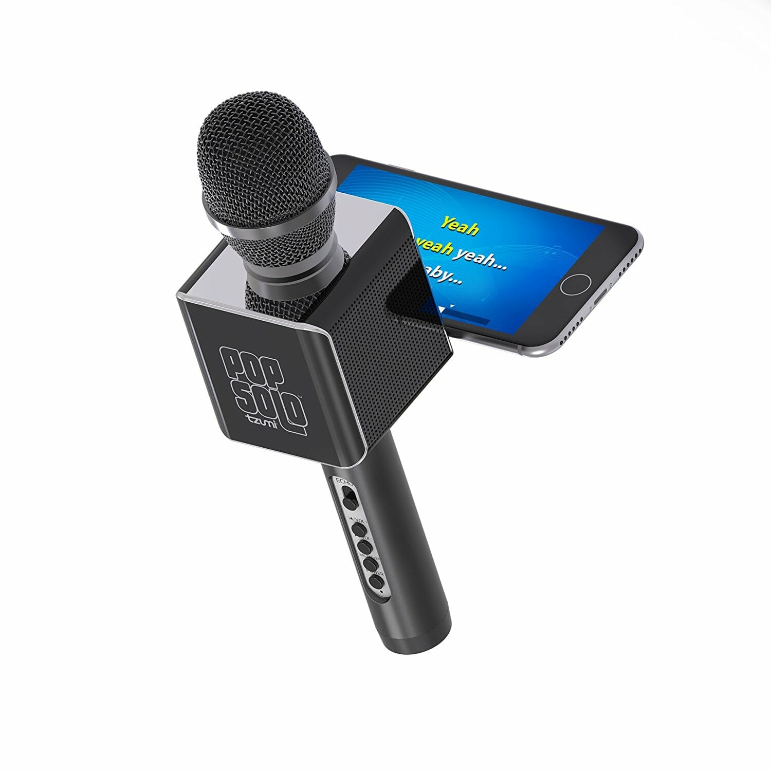 Microphone Karaoke Bluetooth - For SmartPhone, Tablet and Computer