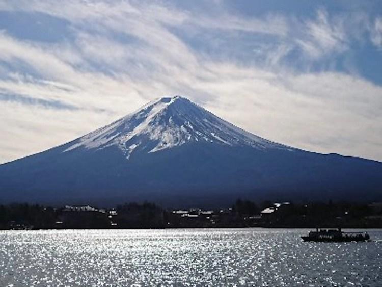 Wakesurfen bij Mount Fuji