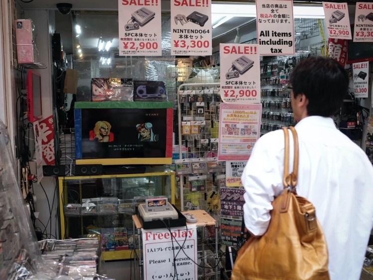 De Japanse games-industrie ligt níet op zijn gat
