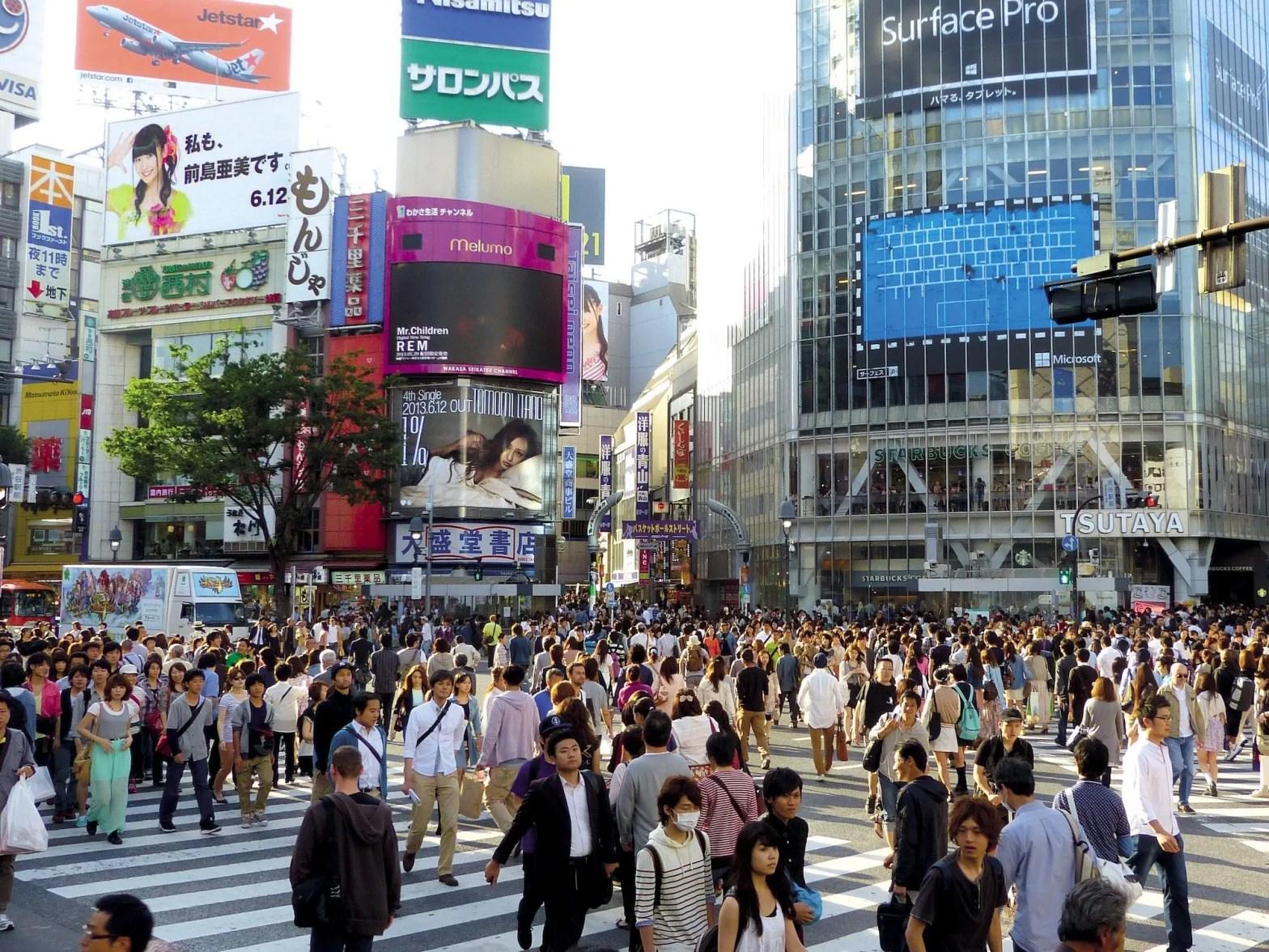 Hoeveel inwoners heeft Japan?