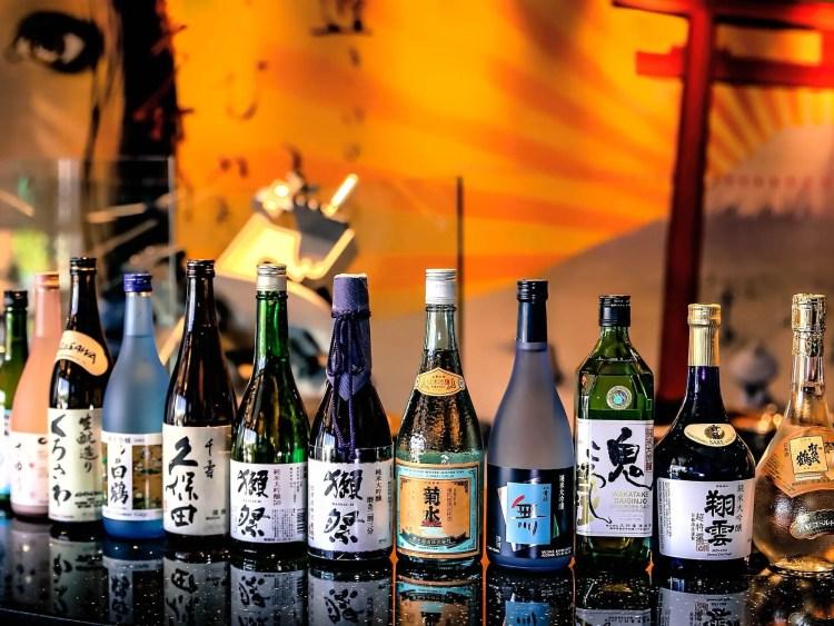 Sake proeven bij Maikoya